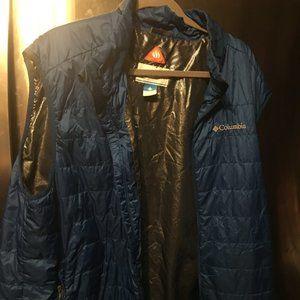 Columbia Quilted Vest w/Omni-heat  -245